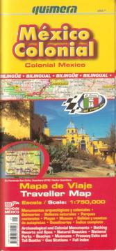 Cover of: Colonial Mexico Traveller Map by Quimera