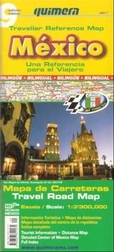 Cover of: Mexico Traveller Reference Map (Referencia para el Viajero)