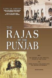 Cover of: The Rajas of the Punjab
