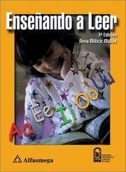 Cover of: Ensenando a Leer