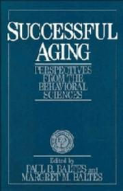 Cover of: Successful aging