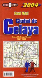 Cover of: Celaya City Map