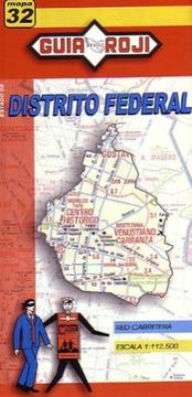 Cover of: Distrito Federal Map by Guia Roji by Guia Roji