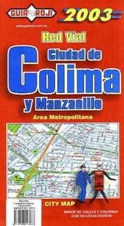 Cover of: Colima and Manzanillo City Plan