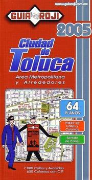 Cover of: Toluca City Atlas