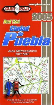 Cover of: Puebla City Map by Guia Roji