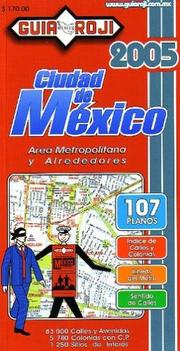 Cover of: Mexico City Atlas (Large)