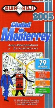 Cover of: Monterrey City Atlas