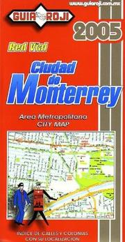 Cover of: Monterrey City Plan