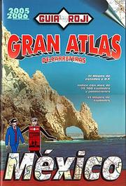 Cover of: Gran Atlas de Carreteras-Mexico