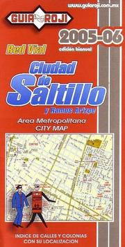 Cover of: Saltillo City Map by Guia Roji