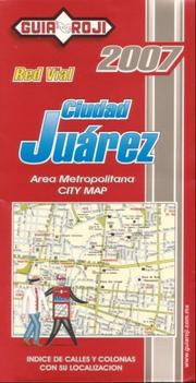 Cover of: Juarez City Plan by Guia Roji