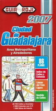 "Cover of: """"Ciudad de Guadalajara"""" City Atlas by Guia Roji"