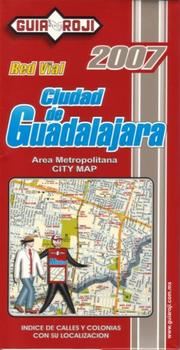 "Cover of: """"Ciudad de Guadalajara"""" City Map by Guia Roji"