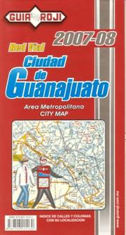 "Cover of: """"Ciudad de Guanajuanto"""" City Map by Guia Roji"