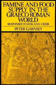 Cover of: Famine and food supply in the Graeco-Roman world