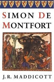 Cover of: Simon de Montfort (British Lives) | J.  R. Maddicott
