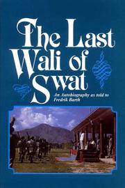 Cover of: The Last Wali of Swat (Asian Portraits)