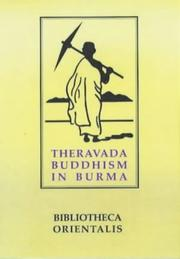 Cover of: Theravada Buddhism in Burma (Bibliotheca Orientalis: Burma)