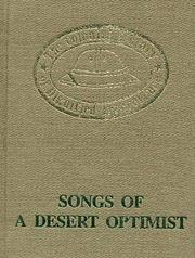 Cover of: Songs of a Desert Optimist. Poems of Burma | J. M. Symns