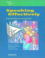 Cover of: Speaking Effectively | Jeremy Comfort