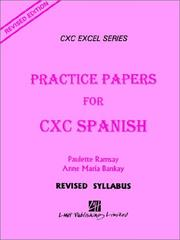 Cover of: Practice Papers for Cxc Spanish by Paulette Ramsay
