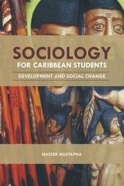 Cover of: Sociology for Caribbean Students by Nasser Mustapha
