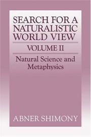 Search for a naturalistic world view
