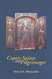 Cover of: Coptic Saints and Pilgrimages