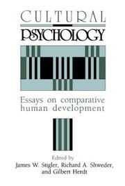Cover of: Cultural psychology