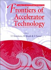 Cover of: Frontiers of Accelerator Technology |
