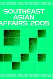 Cover of: Southeast Asian Affairs 2005 |
