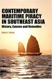 Cover of: Contemporary Maritime Piracy in Southeast Asia | Adam, J Young