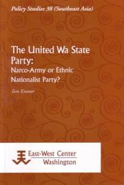 Cover of: The United Wa State Party | Tom Kramer