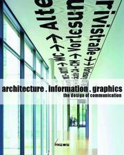 Cover of: Architecture, Information, Graphics | Philipp Meuser