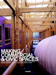 Cover of: MAKING COMMERCIAL AND CIVIC SPACES