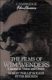 Cover of: The films of Wim Wenders