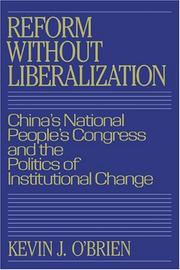 Cover of: Reform without liberalization | O