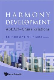 Cover of: Harmony and Development |