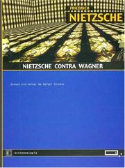 Cover of: Nietzsche Contra Wagner