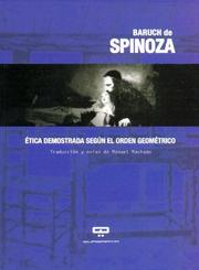 Cover of: Etica Demostrada Segun El Orden Geometrico