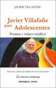 Cover of: Javier Villafane Para Adolescentes