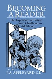 Cover of: Becoming a Reader | J. A. Appleyard