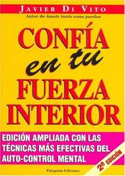 Cover of: Confia En Tu Fuerza Interior