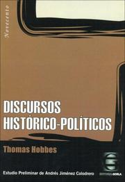 Cover of: Discursos Historico-Politicos
