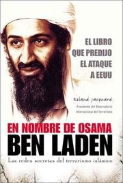 Cover of: Au nom d'Oussama Ben Laden