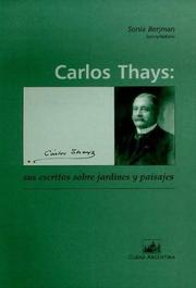 Cover of: Carlos Thays