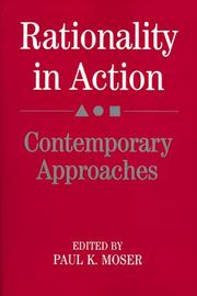 Cover of: Rationality in action |