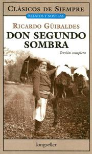 Cover of: Don Segundo Sombra / Mr. Second Shadow