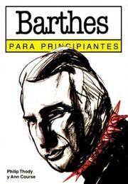 Cover of: Barthes para principiantes